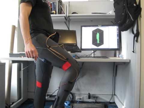 Motion sensing suit