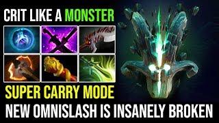 Super Carry [Juggernaut] New Omnislash is Insanely Broken 7.20c New Cancer Crazy Game 22Kills Dota 2