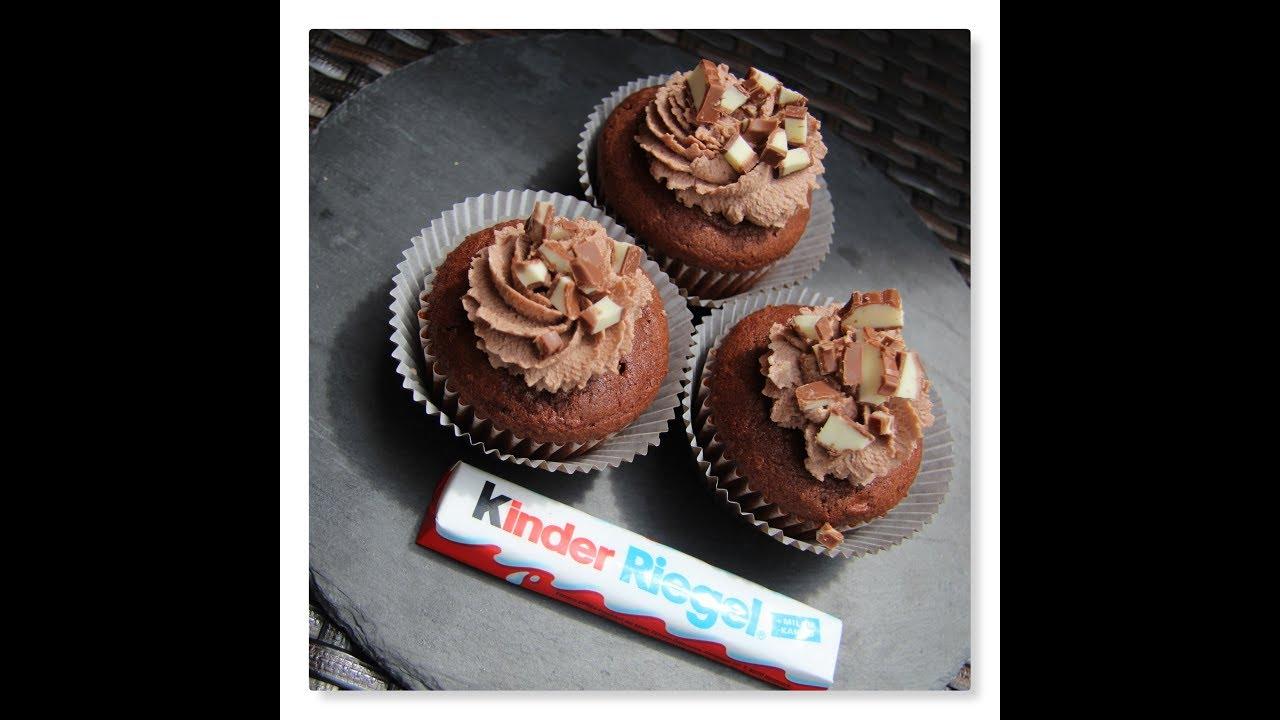Saftige Kinderschokoladen Cupcakes Einfach Lecker Youtube