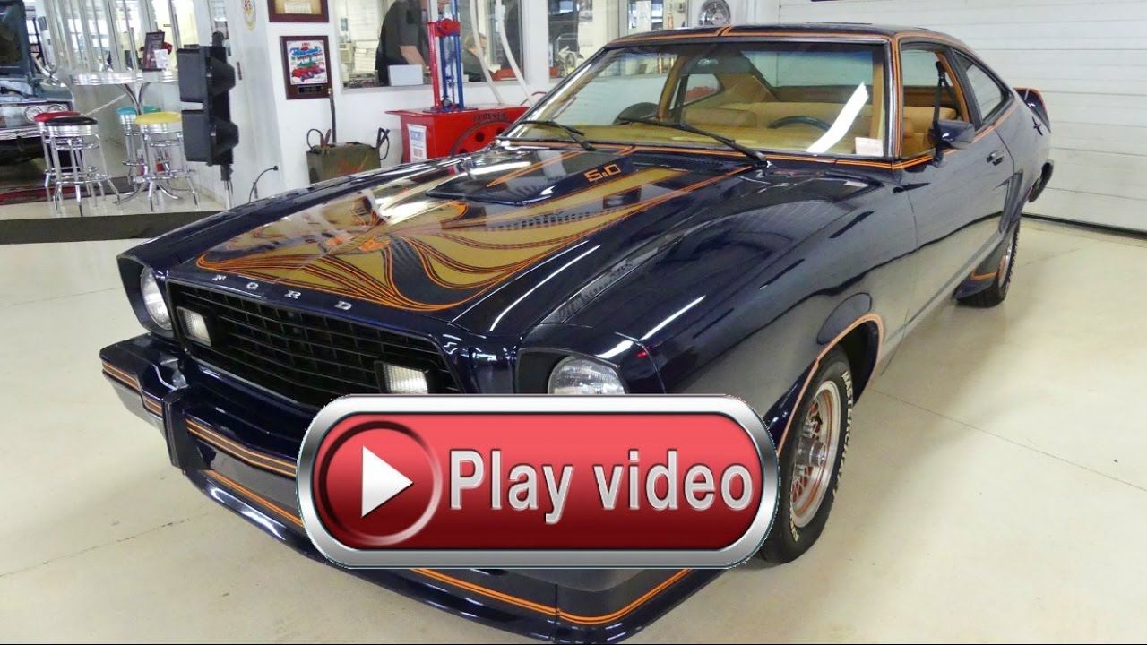 1978 Ford Mustang King Cobra Stock # 177014 for sale near Columbus