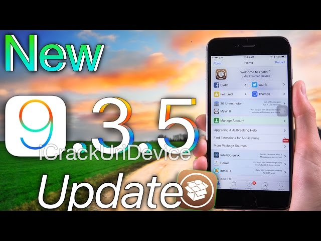d8a2c291254 iOS 9.3.5 Jailbreak UPDATE! Security Patches & iOS 9.3.5 Release - YouTube