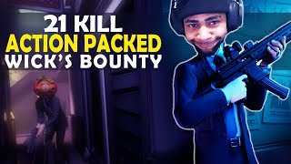 21 KILLS | ACTION PACKED FUNNY GAME - (Fortnite Battle Royale)