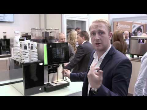WMF 5000S professional coffee machine at Lunch
