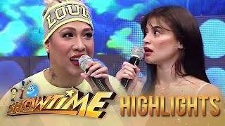 Anne learns a bathing technique from Vice | It's Showtime
