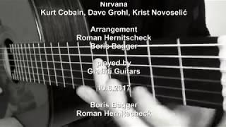 Smells Like Teen Spirit Acoustic Guitar Cover Graffiti Boris Bagger Roman Hernitscheck Valdo Preema