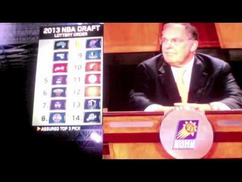 NBA Draft Lottery 2013