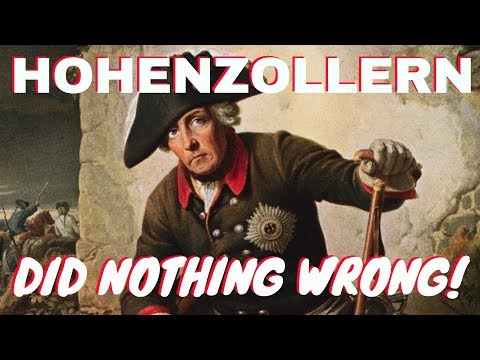 Hohenzollern did nothing wrong!
