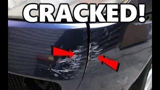 Bumper DIY Crack Repair. Fix all types!