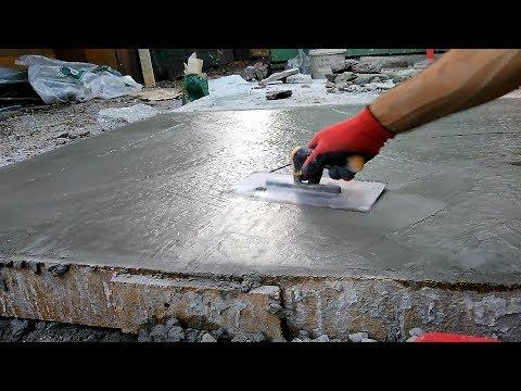 Качественный бетон своими руками