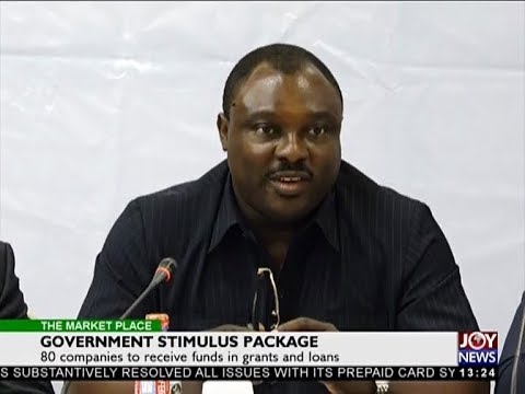 Government Stimulus Package - The Market Place on Joy News (12-12-17)
