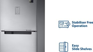 Samsung 253 L Frost Free Double Door 4 Star 2019 BEE Rating Refrigerator RT28M3424S8 HL