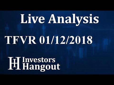 TFVR Stock Live Analysis 01-12-2018