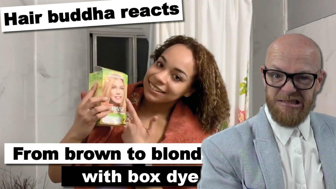 Hair Buddha reacts on Box Dye hair fail
