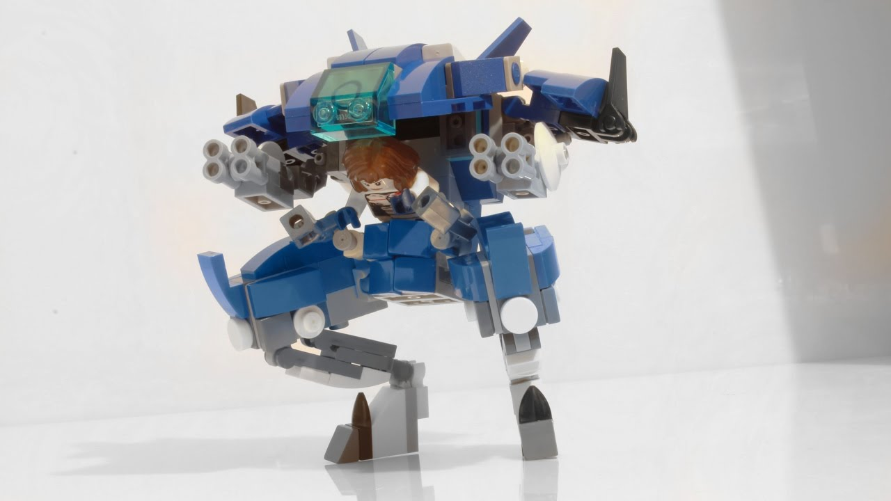 Building D.Va's mech from Overwatch with Lego - YouTube