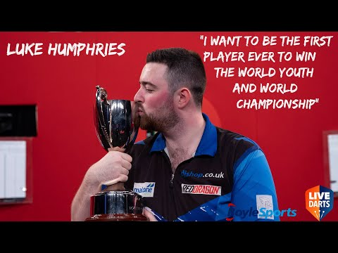 """Luke Humphries: """"I want to be the first player ever to win the World Youth and World Championship"""""""