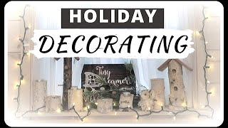 Holiday Decorating In My Tiny House: How To Decorate In A Small Space