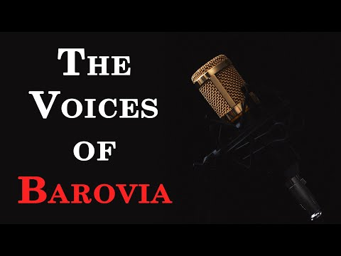 The Voices Of Barovia - Roleplaying Strahd And Other NPCs | Running Curse Of Strahd 5e