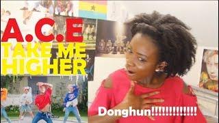 A.C.E (에이스) - TAKE ME HIGHER MV REACTION [CROP TOP DONGHUN!!]