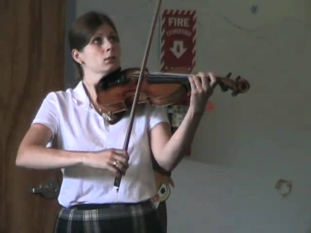 2010 NHHG Open Scottish Fiddle 1st place Mari Black