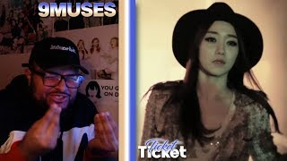 9MUSES(나인뮤지스) - Ticket MV REACTION   HOLD ON WITH THIS SONG!…