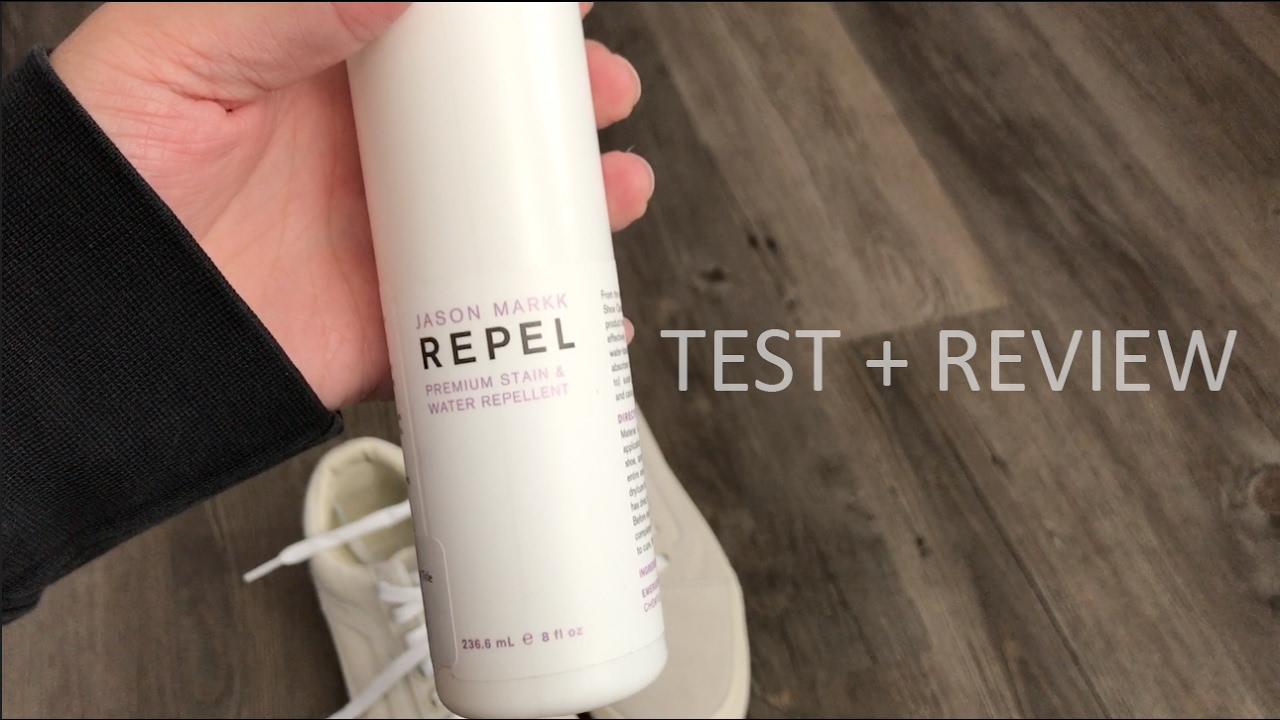 best service presenting separation shoes Jason Markk Repel Test & Review: IT WORKS - YouTube