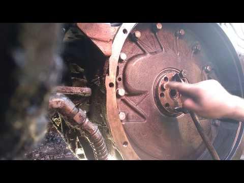 Двигатель ЯМЗ-238 Утечка масла. Кассетный сальник. 2 часть!