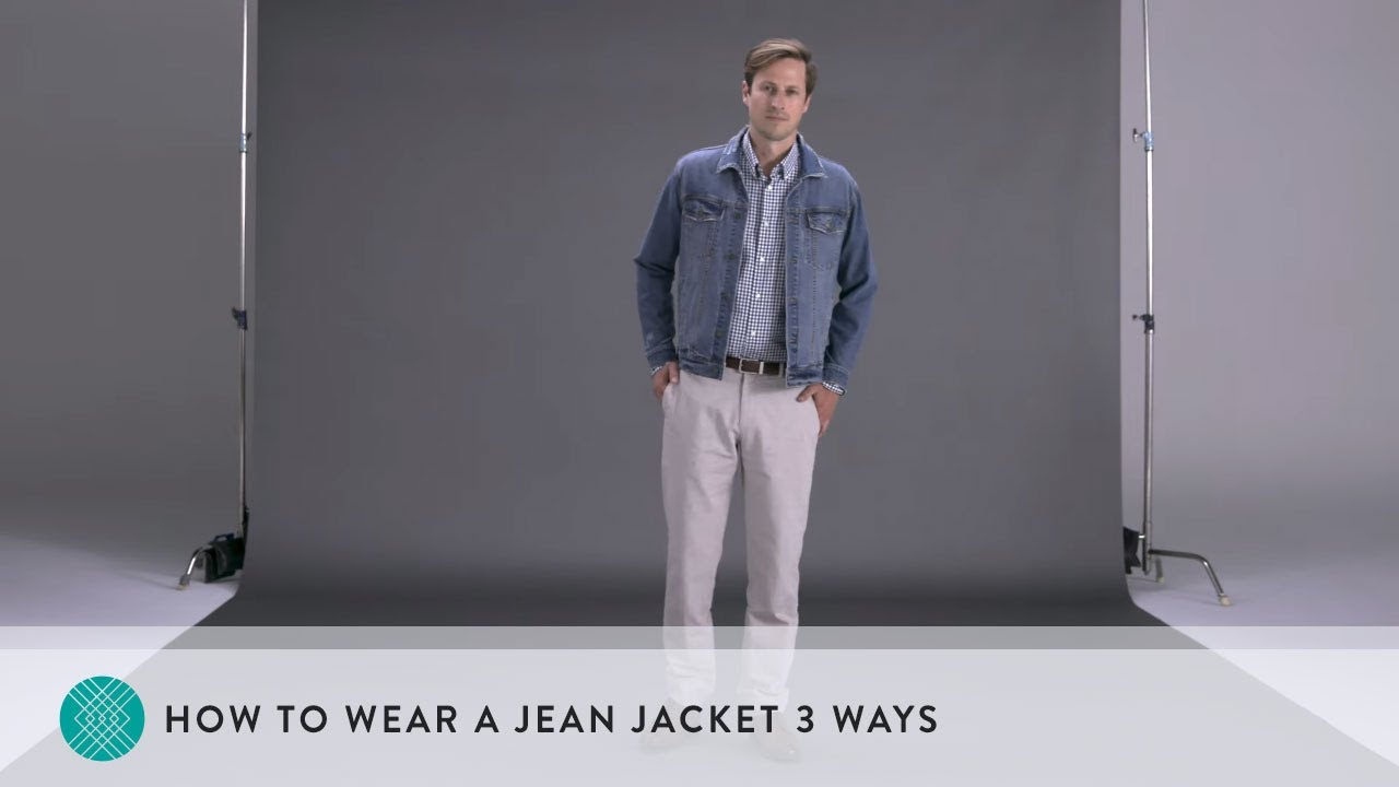 What do I wear with a jean jacket?