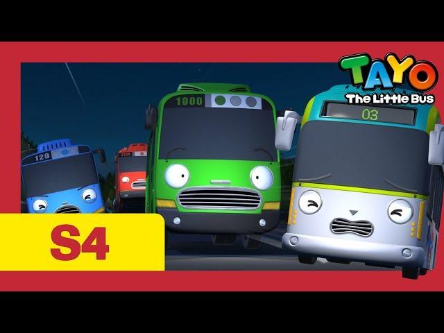 Tayo Español la Serie 4 l #22 Incidente del fantasma de la montaña l Tayo el pequeño Autobús
