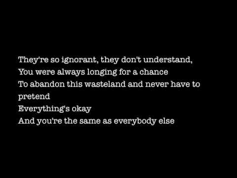 Earlyrise - Wasteland (Lyrics)