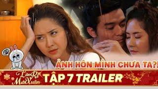PHIM TẾT 2020|Làm rể Mười Xuân Trailer Tập 7: Tường Vi mơ mộng tương tư sau cú hôn của Lê Minh Thành