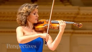 Violinist anne-sophie mutter discusses the importance of chamber music. mutter's passionate commitment to artistic excellence and dedication t...