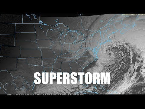 "Millions in path of rare winter Hurricane-like ""Superstorm"" - #Climate #Chaos"
