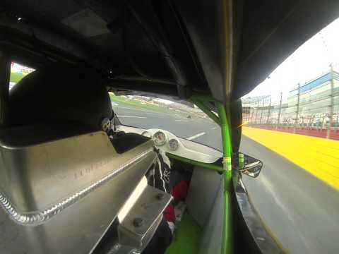 Charlotte Motor Speedway 2014 Sumer Shootout Round 5: Bandolero Outlaw  1st Heat Race