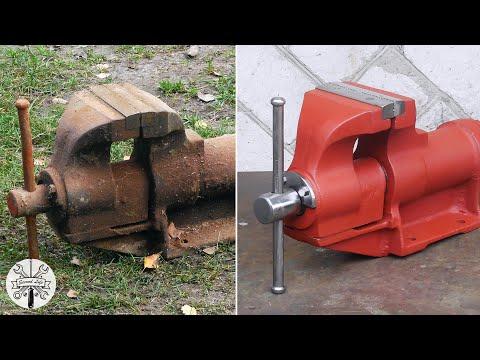 Ремонт советских тисков ◃ ║ ▹ Vise Restoration
