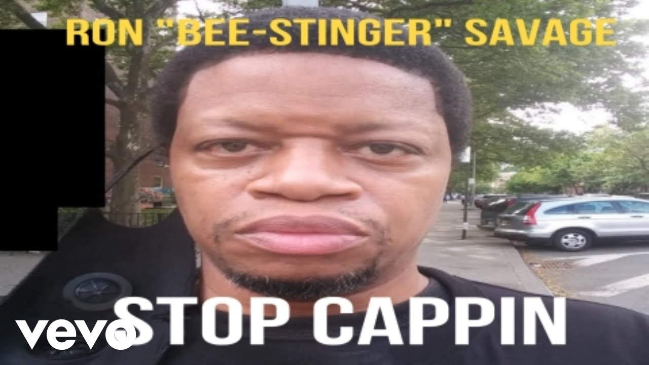"""Ron """"Bee-Stinger"""" Savage, CEO of Hip Hop Movement, Releases """"No Cappin"""" Video"""