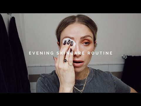 EVENING SKINCARE ROUTINE