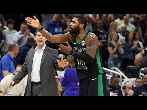 Kyrie Irving Upset With Last Play vs Magic! 2018-19 NBA Season