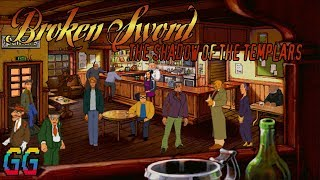 PS1 Broken Sword: The Shadow Of The Templars 1996 PLAYTHROUGH