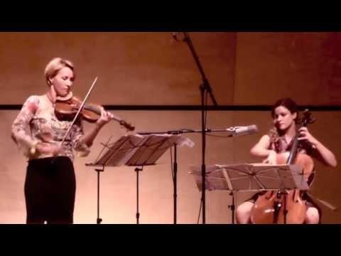 Bohuslav Martinu - Duo Nr. 2 - 1. Allegretto