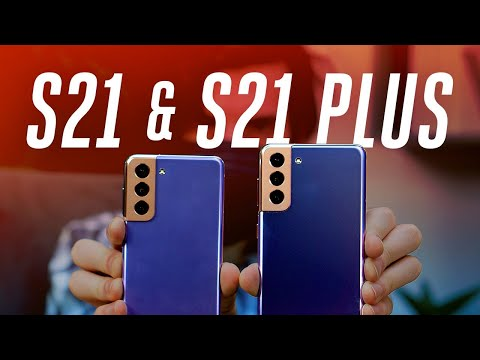 Samsung Galaxy S21 and S21 Plus hands-on: price drop