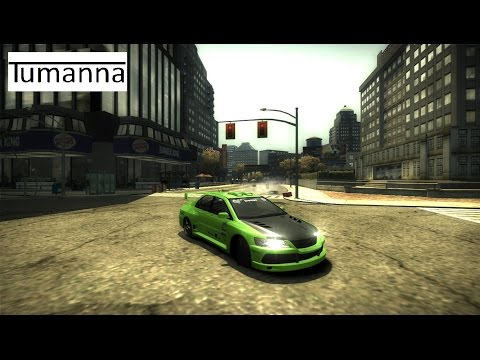 Как сделать машину для дрифта в Need for Speed Most Wanted (2005)