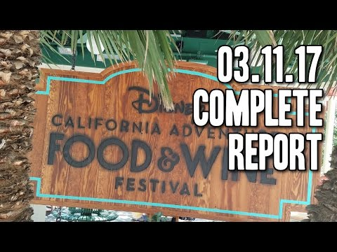 The week we went to the Food and Wine Festival  03112017 DL4K