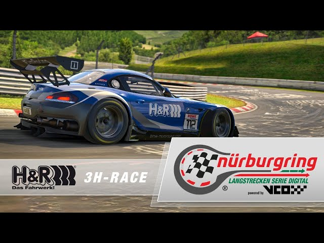H&R 3h-Race – Digital Nürburgring Endurance Series powered by VCO