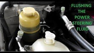 Proton Inspira/Lancer 08 - DIY flushing the power steering fluid