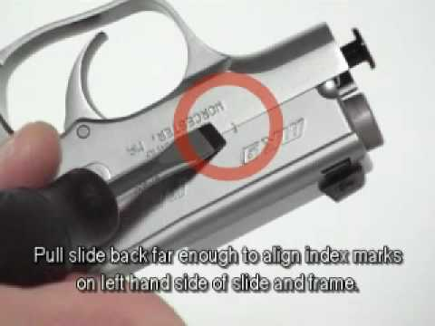 Kahr Pistol Disassembly & Reassembly  (MK Series)
