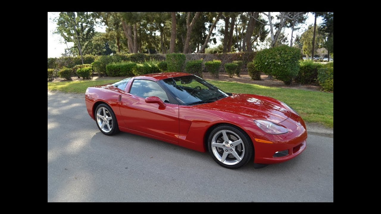 SOLD 2005 Chevrolet Corvette Coupe Precision Red for sale ...