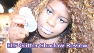 ELF Glitter Eyeshadow Review Thumbnail