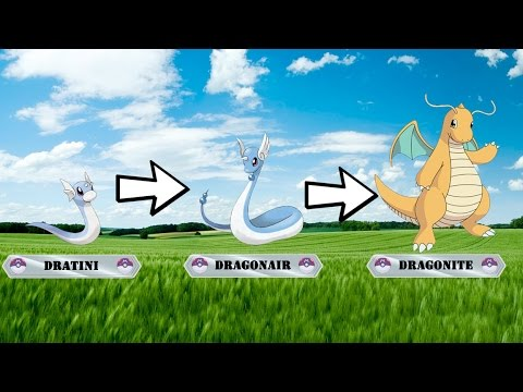 Generation 1 Pokemon! Pokemon Evolutions! Pokemon with 3 Stages Evolutions - 1/3