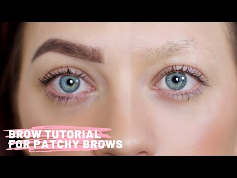 Brow Tutorial for Sparse Patchy Brows Using Kat Von D thumbnail