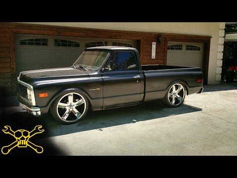 Black Pearl Gets Some Love | Slammed Chevrolet c10 Truck